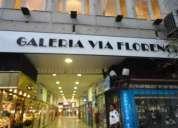 Alquilo  excelente local galeria via florencia