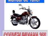 Excelente corven triax 250 touring manual taller para motos