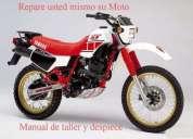Yamaha xt 600 manual de mecanica