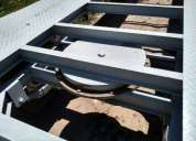 Vendo trailer doble eje 5 toneladas