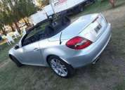 Mercedes benz slk impecable, contactarse.