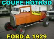 Ford a coupe ano 1929 hot rod