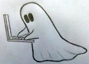 Escritor fantasma - discursos, artículos, etc.