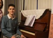 Clases de piano y teclados a domicilio