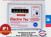 Elevadores de voltaje | cañuelas | estabilizadores