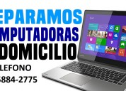 Tecnico de pc y notebooks a domicilio en paternal