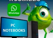 Reparacion de computadoras - domicilio - caballito