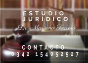 Mariano ferrero; abogado; mat. prof. 8055