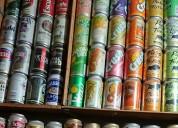 Coleccion de latas coca cola - cervezas - gaseosas
