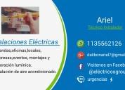 Instalaciones eléctricas domiciliarias y industria