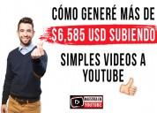 Nuevo mÉtodo: gana dinero con youtube $16,000 usd
