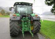 Tractor john deere 6125r con cargador