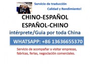 Traductor interprete de chino español feria canton