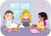 Apoyo escolar primario y secundario a domicilio
