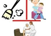 Cuido niños y adultos mayores a domicilio