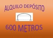 ALQUILO DEPOSITO P/ ALMACENAR MERCADERIA EN LANUS