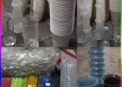 Vendo variedad de vasos p mayor a mitad de precio
