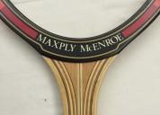 Vendo antigua raqueta dunlop maxply mcenroe