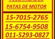 Piezas especiales 15-7015-2765 patas motor vulcan
