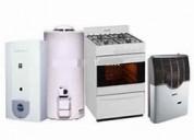 Calefactores service gasista  matriculado  ecogas
