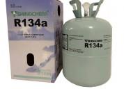 Gas r134a garrafa descartable de 13.6kg refrigeran