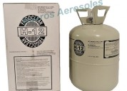 Gas h12 refrigerante garrafa descartable 13.6kg re