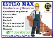 Estilomax  construccion y reformas