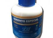 Cemento solución para gomería reparación tg 250cc