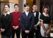 Se necesitan trabajadores de hoteles y restaurante