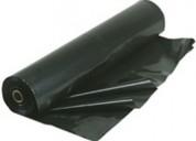Rollo de polietileno negro de 2 x 100 x 100