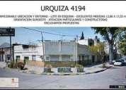 Urquiza 4100 u d 140 000 terreno en venta en rosario
