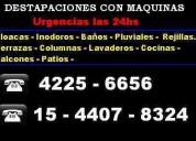 Destapaciones con maquina lanus 42256656 15 440783
