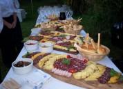 Servicio de catering completo para fiestas