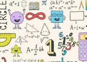 Se realiza trabajos de matematica y quimica