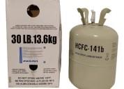 Gas 141b garrafa 13.6kg agente de limpieza 141 b