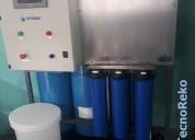 Ósmosis + filtración + desinfección - intec smart