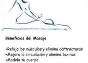 Alejandro te ofrece masajes domicilio