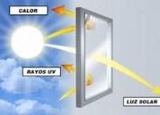 ColocaciÓn de laminas de control solar en villa ca