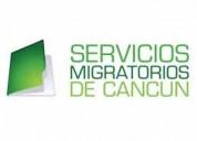 Servicios migratorios de cancun.