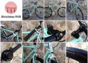 bicicleta rodado 28. fixie verde agua (a estrenar)