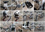 bicicleta rodado 26. mtb básica blanca. a estrenar