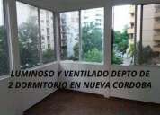 Nueva cordoba venta depto 2 dormitorios luminoso en córdoba capital