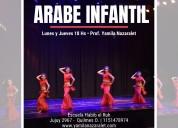 Clases de danzas arabes para nenas en quilmes