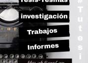 Servicio de asesoría: tesis, tesinas