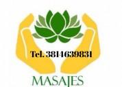Masajes corporales descontracturantes