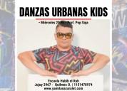 clases de danzas urbanas kids en quilmes oeste