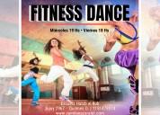 Clases de fitness dance en quilmes oeste
