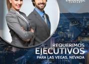 CompaÑia en los ee.uu busca ejecutivos en ventas