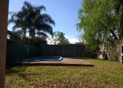 Funes. casa, 2 dormitorios, pileta, jardín. financ