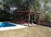 alquiler anual excelente propiedad en villa del lago en punilla
